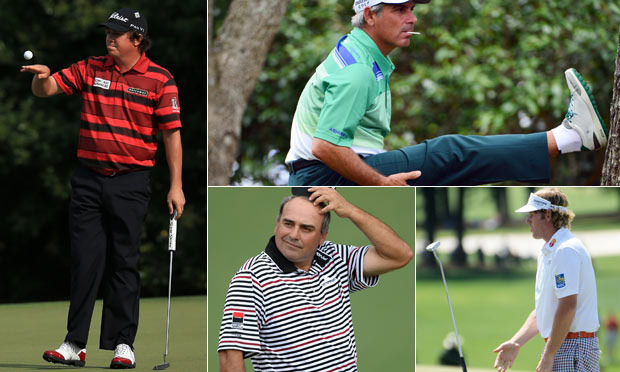 Masters golf composite