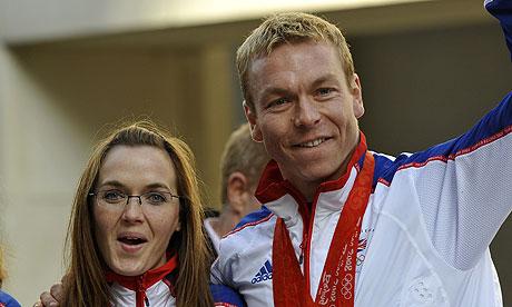Victoria Pendleton and Chris Hoy