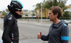 Bradley Wiggins and Tim Kerrison