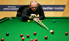 Stuart Bingham at the World Snooker Championship