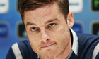 Scott Parker at Tottenham press conference