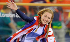 Laura Trott wins gold in women's omnium, 2012 Olympics