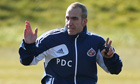 Paolo Di Canio, Sunderland training session