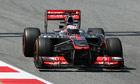 Jenson Button Circuit de Catalunya