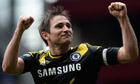 Frank Lampard in action for Chelsea
