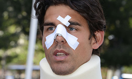 Tennis player Thomas Drouet