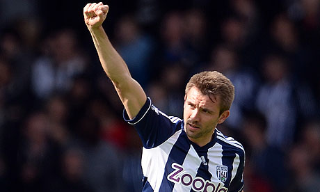 West Bromwich Albion&#39;s defender Gareth McAuley