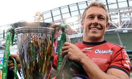 Toulon's captain Johny Wilkinson