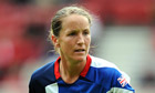 Casey Stoney GREAT BRITAIN LADIES V SWEDEN LADIES