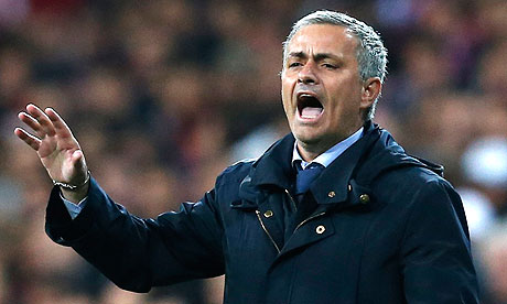 Jos  Mourinho  008 Bale wants £200k a week at Spurs, Mourinho to bring Cavani to Chelsea & Arsenal chase Higuain