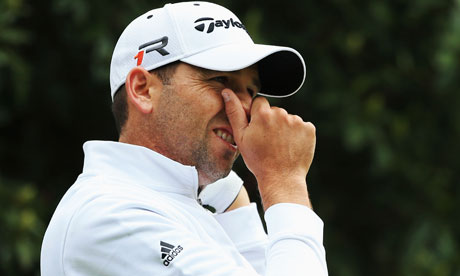 Sergio Garc&#x00ed;a apologises after Tiger Woods 'fried chicken' jibe