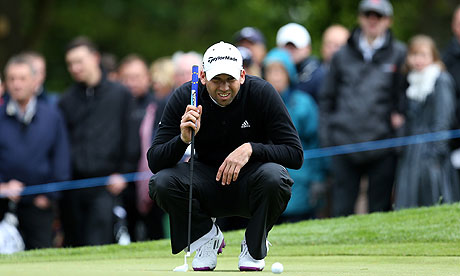 Sergio Garcia at Wentworth