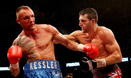 Ravenous Froch slays Kessler
