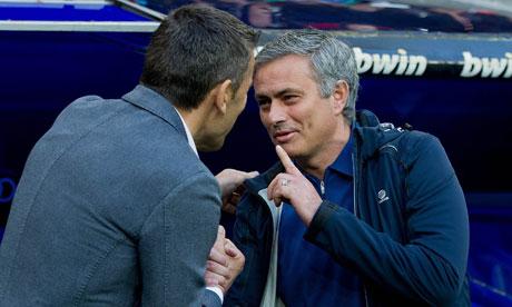 José Mourinho, the Real Madrid coach