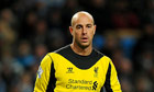 Soccer - Jose Reina Flie Photo