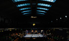York Hall in Bethnal Green, east London