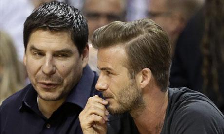 Beckham diventerà proprietario del Miami