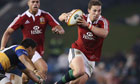 George North, Lions v Combined Country XV