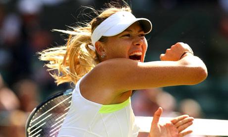 Wimbledon | Maria Sharapova advances