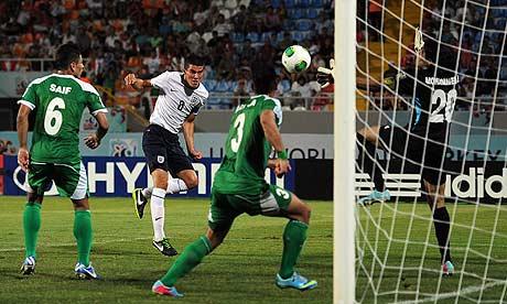 Conor Coady England v Iraq: Group E - FIFA U-20 World Cup Turkey 2013