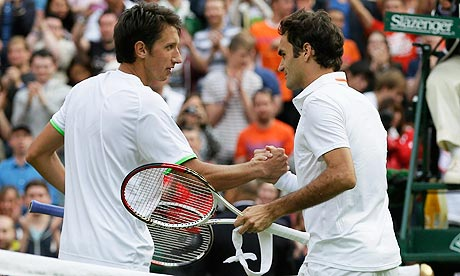 Roger Federer sent crashing out of Wimbledon by Sergiy Stakhovsky