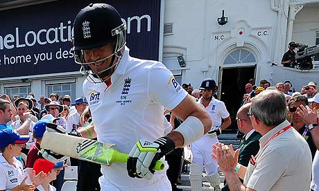 Cricket - First Investec Ashes Test - England v Australia - Day Three - Trent Bridge