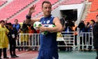 Chelsea football team arrive in Bangkok for friendly match