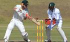 David Warner batting, South Africa A v Australia A, Pretoria