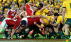 British and Irish Lions scrum