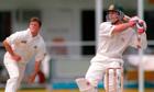 Australia's Michael Slater v England
