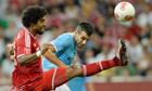 Manchester City striker Alvaro Negredo i