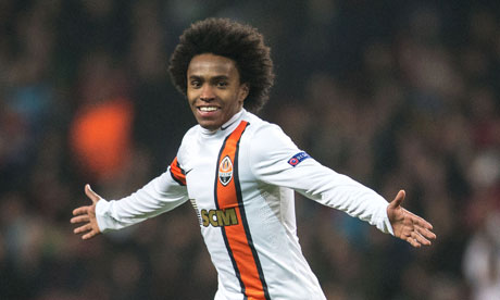 Willian joined Anzhi Makh 008 Anzhi give Liverpool, Spurs & Man City target Willian permission to speak to other clubs