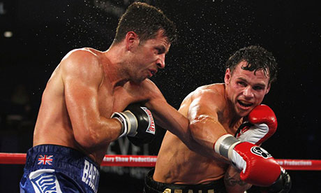 Daniel Geale and Darren Barker