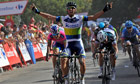 Michael Matthews wins stage five of the Vuelta a España