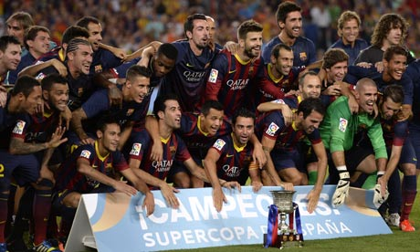 Barcelona win Super Cup against Atlético despite Messi's penalty miss