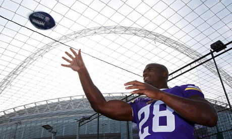 Adrian Peterson of Minnesota Vikings