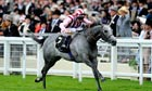 Adam Kirby rides Lethal Force to victory in the  Diamond Jubilee Stakes at Ascot in June