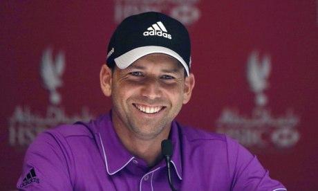 Sergio García, Spanish golfer