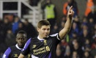 Steven Gerrard is being deployed deeper in midfield by his Liverpool manager, Brendan Rodgers