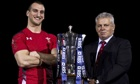 RBSWarren Gatland, right, and Sam Warburton intend to keep Welsh hands on the Six Nations trophy.