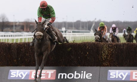 The Rainbow Hunter wins at Doncaster