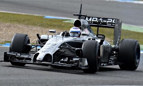 Formula One - 2014 Testing - Day Two - Circuito de Jerez