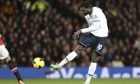 Emmanuel Adebayor has declared himself fit for Tottenham Hotspur for the FA Cup tie at Arsenal