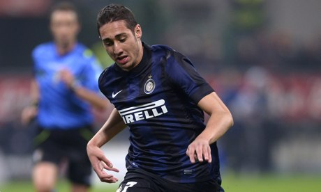 Ishak Belfodil, the Algeria international, has found his opportunities limited at Internazionale