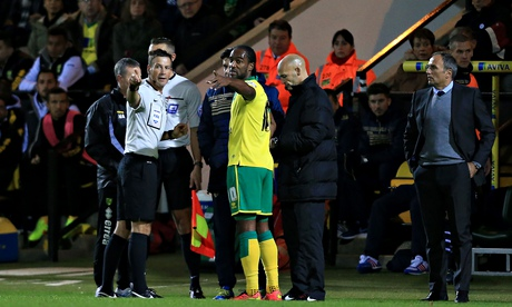 Leeds defender accused of racism during Norwich draw
