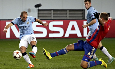 Pablo Zabaleta: Manchester Citys draw against CSKA Moscow was painful