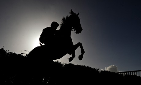 Sport picture of the day: home straight silhouette