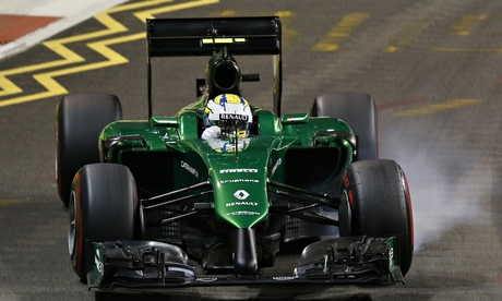 Administrator fears Caterham wont race at United States Grand Prix