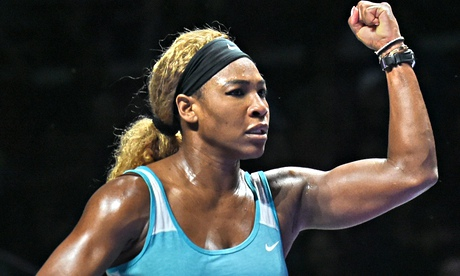 Serena Williams beats Caroline Wozniacki in thriller at WTA Finals