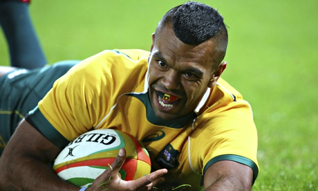 Wallabies Kurtley Beale fined for verbal altercation with Di Patston
